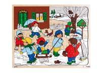 Puzzle Serie Jahreszeiten Winter, 48 Teile