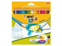 Bic kids aquarelpotlood, 24 stuks assorti