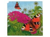 Rolf Connect - Groeipuzzel vlinder 28 x 28 cm 4-lagen 86 stukjes