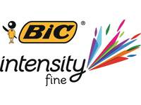 Fineliner BIC Intensity grijs 12 stuks