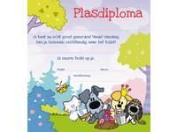 Plasdiploma Woezel en Pip 2338  1 motief, 20 stuks