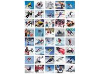 Beloningsstickers Olympische winterspelen 403, 36 motieven, 720 stuks