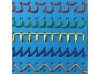 Link and Lace set van 4 borden, 4 driekantige pennen en 20 veters