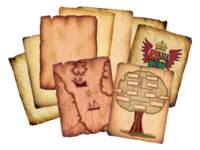 Antiek papier, 96 vellen, 8 ontwerpen