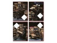 Schriften 24 lijnen, leesrobot, 16,5 x 21 cm, 80 gr