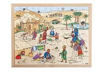 Puzzel Sahara leven in de warmte, 120 stukjes