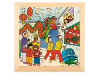 Puzzle Chinesisches Neujahr