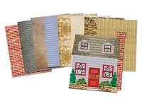 Patroonpapier gebouwontwerp
