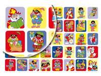 Beloningsstickers Sint en Piet 119 40 motieven, 800 stickers