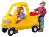 Vrachtwagen loopauto