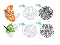 Patroonplaten Mandala-breuken