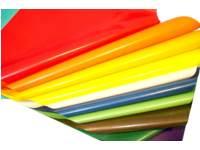 Vliegerpapier 100 x 70 cm 100 vel 10 kleuren ass.
