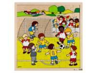 Puzzel voetbal, 81 stukjes