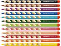 Kleurpotloden Stabilo EASYcolors 12 kleuren RH