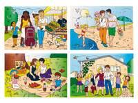 Puzzelserie Families
