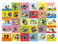 Beloningsstickers Woezel en Pip 116 30 motieven, 600 stickers