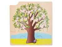 Groeipuzzel boom, 4 lagen, 36 stukjes