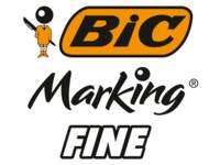 BIC Permanent-Marker Rund 1,1 mm, Schwarz pro Dutzend