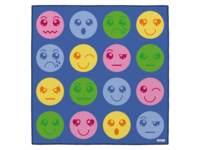 Speelmat groot met emoticons