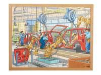 Techniekpuzzel autoproductie, 120 stukjes