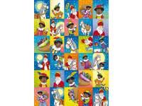 Beloningsstickers Sint Nicolaas 23 30 motieven, 600 stickers