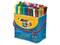 Viltstiften BIC Kids Visa blik 84 stuks ass.