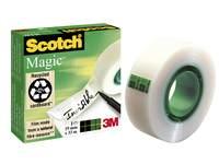 Plakband Scotch magic tape 19 mm x 33 mtr