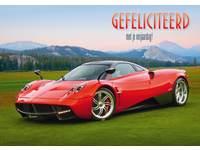 Miniposters Sportwagens 853 4 motieven, 20 stuks