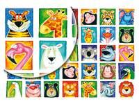 Beloningsstickers Wilde Dieren 35 motieven, 700 stickers