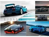 Ansichtkaarten 5740 sportwagens, 4 motieven, 48 stuks