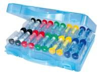 Zandlopers in een koffer, 20 stuks