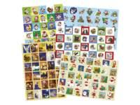 Beloningsstickers snelbestelpakket kerststickers 181 motieven 3620 st.