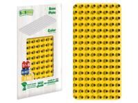 BiOBUDDi Educational base plate yellow