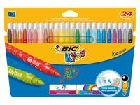 Filzstift Bic Kidcolour 24 Farben Sortiment