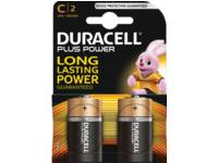 Batterij middel rond C, LR14, 2 stuks