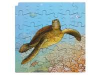 Rolf Connect - Groeipuzzel schildpad 28 x 28 cm 4-lagen 86 stukjes