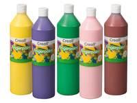 Fingermalfarbe in Flaschen