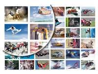 Beloningsstickers Sport in beeld 162, 36 motieven, 828 stuks