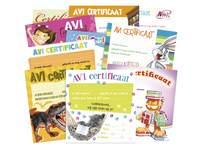 AVI certificaten Klassepakket 2490 10 motieven, 50 stuks