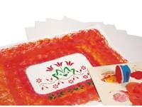 Houtvrij wit tekenpapier 120 grams