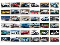 Beloningsstickers Stoere Sport Cars 385, 36 motieven, 720 stuks