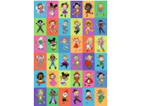 Beloningstickers 460 Carnaval, 36 motieven, 720 stuks