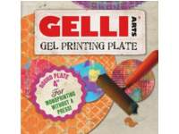 Gel printplaat Gelli Arts rond 10 cm