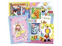 Miniposters snelbestelpakket  Fantasie, 8102, 12 mot. 120 st.