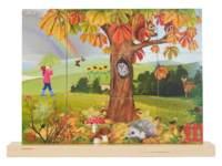 Puzzel verticaal herfst, 12 stukjes