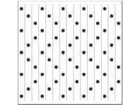 Vlechtmat kleuren & patronen   22 x 22 cm, 72 vel