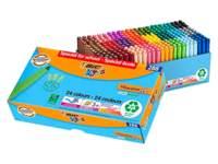Viltstiften BIC kids visacolor XL Ecolutions assorti, class pack 248 + 40 gratis