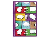 Plakboek  blanco, comic, 22 × 32 cm