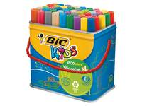 Filzstift BIC Kids ECOlutions, Visacolor XL, 48 Stück Sortiment