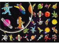 Beloningsstickers Astronauten 358 40 motieven, 800 stuks